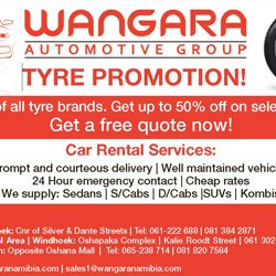 Tyres offer in Namibia